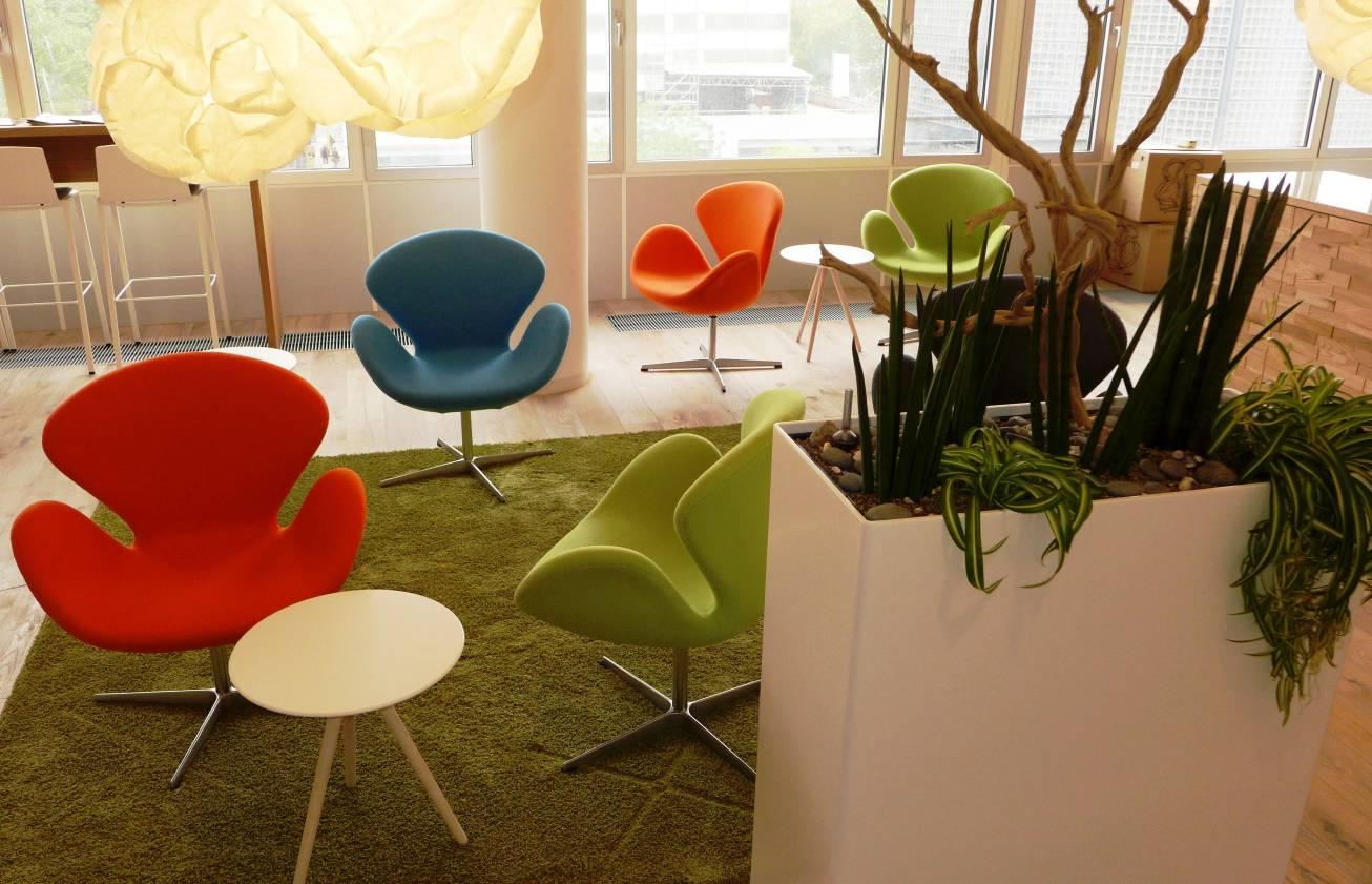 """Urban Jungle"" belebt Büros in zentraler Top-Immobilie ""Bikini-Haus"""