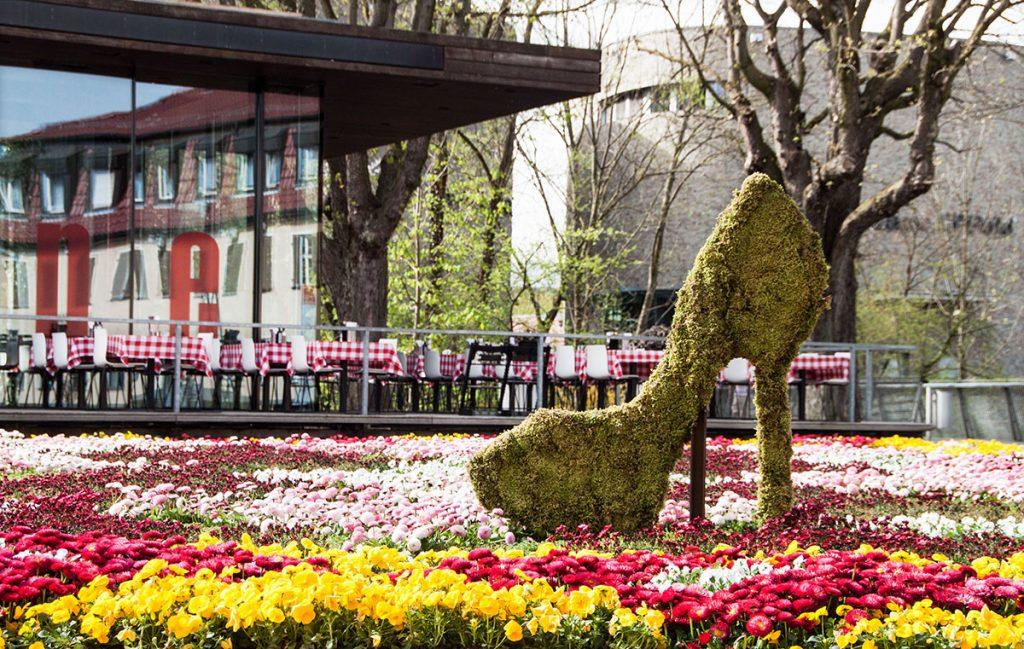 Spektakulärer Blumenteppich – die Raumbegrüner waren's