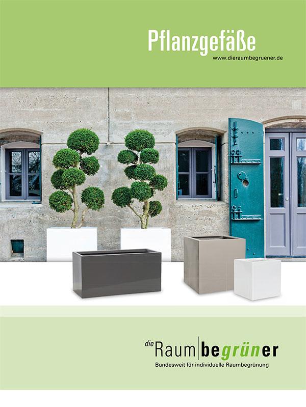 Katalog Pflanzgefäße Coverbild
